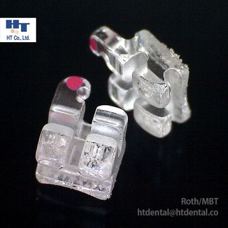 MISO Plus Clear Sapphire Ceramic Orthodontic Brackets 20pcs/Kit