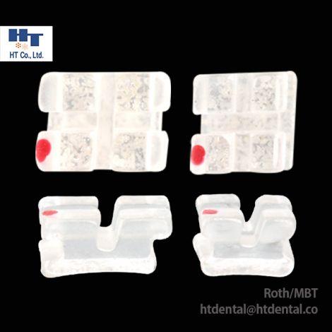 MISO MINI Clear Sapphire Ceramic Orthodontic Brackets 20pcs/Kit