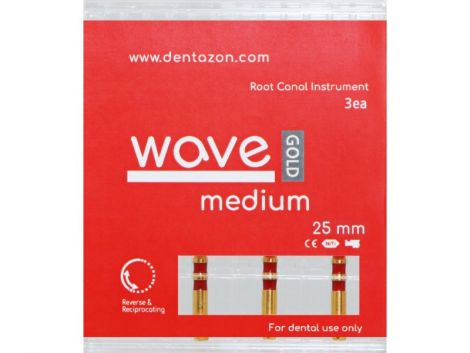 Wave Gold Root Canal Endodontic File (3ea.)
