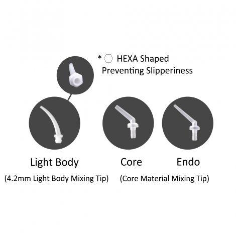 Intra-oral Tip (Light Body, Core, Endo)